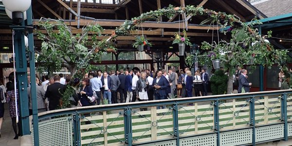A Garden themed conference at Tobacco Docks